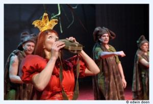 Publiciteit De Rode Prinses- theatergroep Kwatta