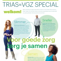 Gloedcommunicatie - Trias/VGZ fusie Special nieuwsbrief