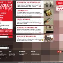 Website opzetten MuZIEum 2012