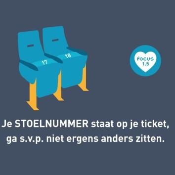 stoelnummer Focus Arnhem